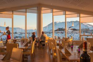 Island mit Blauer Lagune Restaurants
