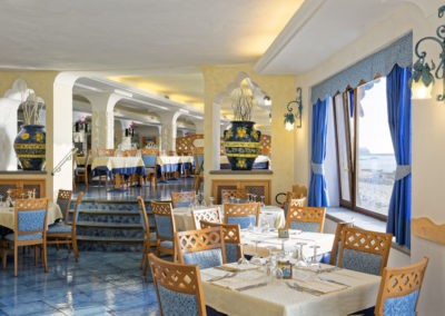 Restaurant im mediterranen Stil